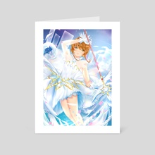 Cardcaptor Sakura - Art Card by acieleis