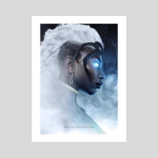 Michaela Coel Storm by Valentin Romero