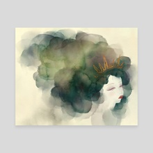 Crowned - Canvas by Faryn Hughes
