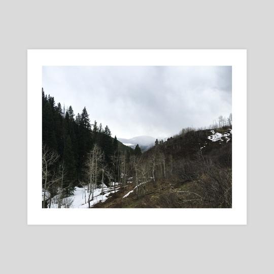 Colorado Mountains by Sarah Kitzmann