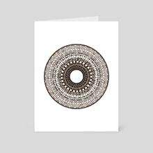 Processing Oculi #2 - Art Card by Nolan Thomas