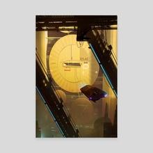 Megablock2 - Canvas by Christopher Balaskas