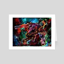 metal gear solid - Art Card by Maxim G