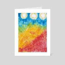 Spring i - Art Card by Titir Bhattacharya