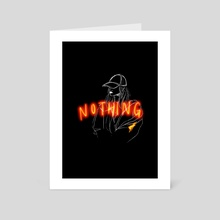 Nothing - Art Card by Haeree Lee