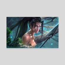 Nidalee - Canvas by Ross Tran