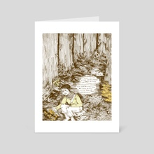 Emotional Seasons: Autumn - Art Card by Kaitlin Kostus