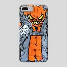 Inktober 2016 - Pumpkin Spice Latte - Phone Case by Roxy Urquiza Flores