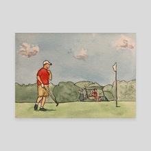 Columbia Park Golf Course - Canvas by JOSHUA MORTENSON