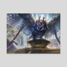 Judges Familiar - Canvas by Ryan Yee