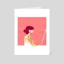 The Wait - Art Card by elisa gonzalez