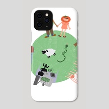 Small World  - Phone Case by Isabelle  Carpenter