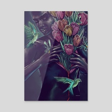 Garden Chest - Acrylic by Draco Imagem