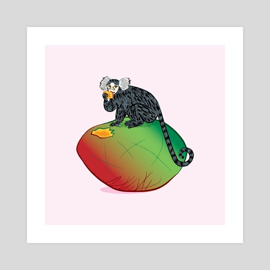 The Marmoset and The Mango by Oliver Lake