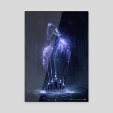 Summoning Sisters - Acrylic by Antoine Collignon