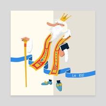 King - Canvas by Grudé Emilien