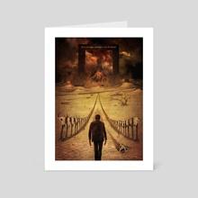 Logan – Hell's Gate - Art Card by Xav DRAGO