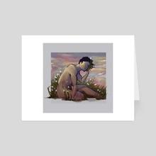 Drunk In A Field, Dandelion Wine - Art Card by John Erickson Manalon