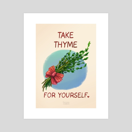 Take Thyme for yourself by Danielle Sands