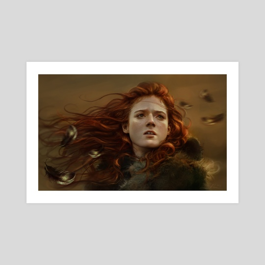 Kissed by Fire by Dalisa Art