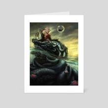 Merman - Art Card by Shreya Shetty
