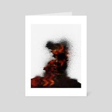The Darkening  - Art Card by Trevin Wyant