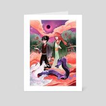 Demon Moonlight - Art Card by Mar Spragge