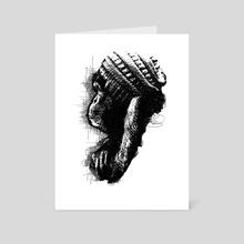 Monkey See Monkey Do - Art Card by Udegbunam TBJ
