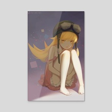Shinobu - Acrylic by Rainy Ri3