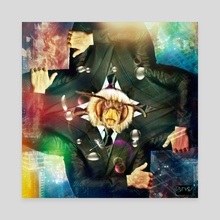 Business Trip - Canvas by Vanja Rancic