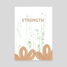 Strength  - Canvas by Navita Williams