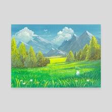 Chibi Valley - Canvas by Roberto Nieto