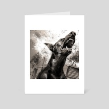 Dogs of Jozi - Art Card by Eugene Smith