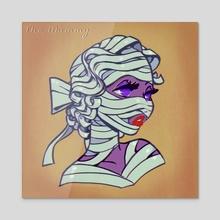 The mummy  - Acrylic by Savannah Alexandra