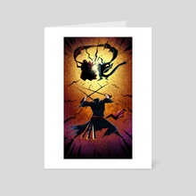 Zoro block - Art Card by Revujo