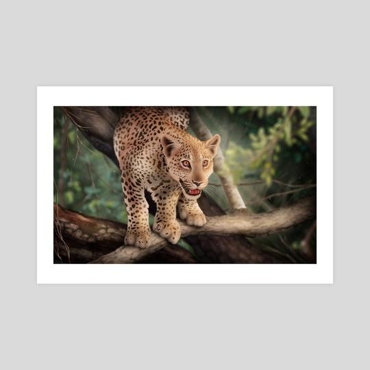 Leopard Cub by Chloe Wolverton