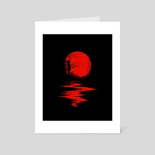 The Land of the Rising Sun - Art Card by Nicebleed