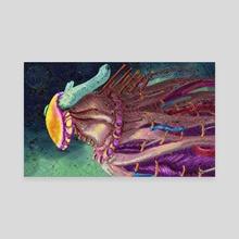 Fae-Rainbow Being - Canvas by Griffin D'Zmura McGuire