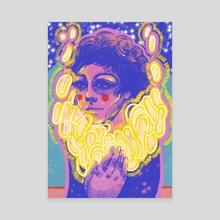 """""""Lightwork"""" - Canvas by Chloe Q"""