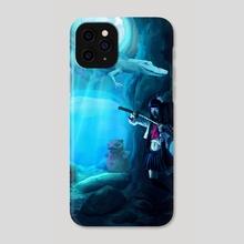 Underwater Exploration  - Phone Case by Ruu Allain