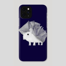 Hedgehog - Phone Case by Brontosaurus Art