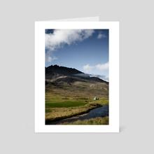 Iceland 06 - Art Card by hinomaru