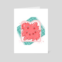 Jam - Art Card by Bee