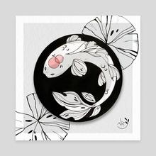 Koi Fish  - Canvas by Nic Ochoa