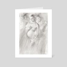 Inwards Frontier - Art Card by Scott Breton