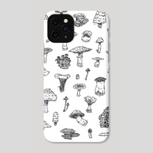 a myriad of mycorrhizae - Phone Case by auvrea