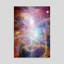 Eternal Energy - Canvas by Bruce Rolff