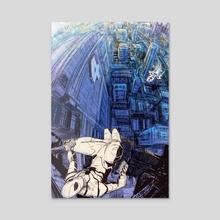 Fantastic Four Spider-man  - Acrylic by Michael DeNicola