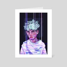 Melting - Art Card by Sara Hjardar
