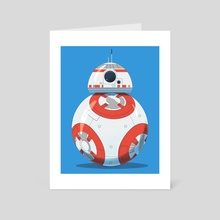 BB8 by Jason Hoffman - Art Card by Artists for the People